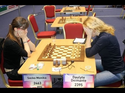 Chess – Heartbreaking blunder in one move